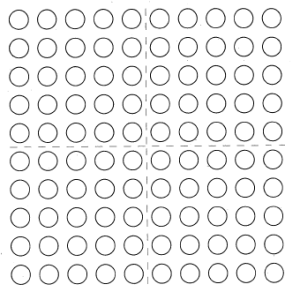 """Mental Math: """"How Many to 100?"""" on the 100-Dot Array"""