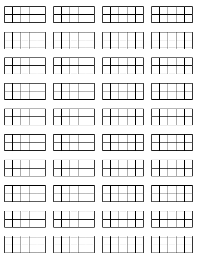 Ten Frame Template http://focusonmath.wordpress.com/tag/10-frames/
