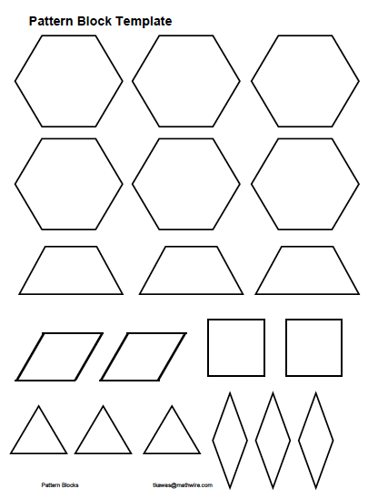 go back gallery for pattern block patterns