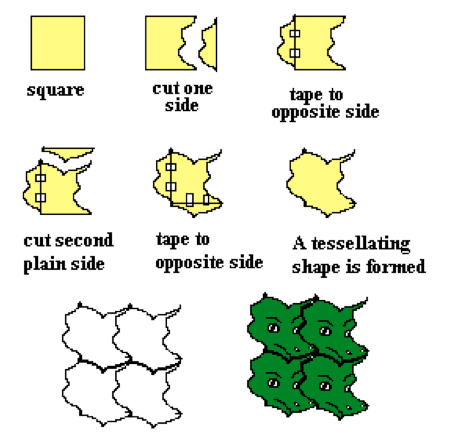 Tessellations Fun With Shape And Space Focus On Math