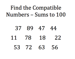 Compatible numbers pic