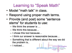 learning to speak math pic